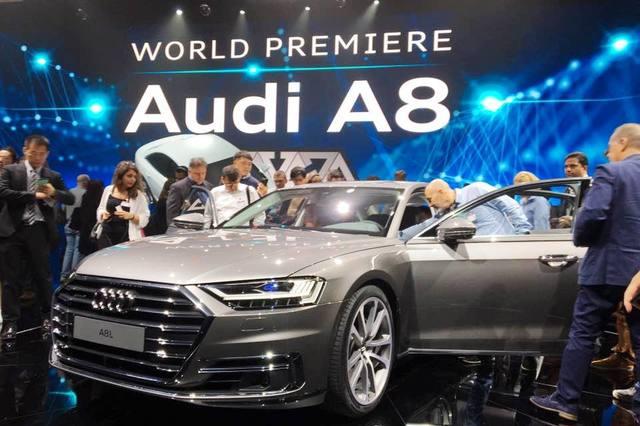Audi A8 2018 Barcelona Launch
