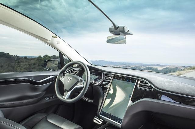 Tesla Model X Magnetic Sunvisor