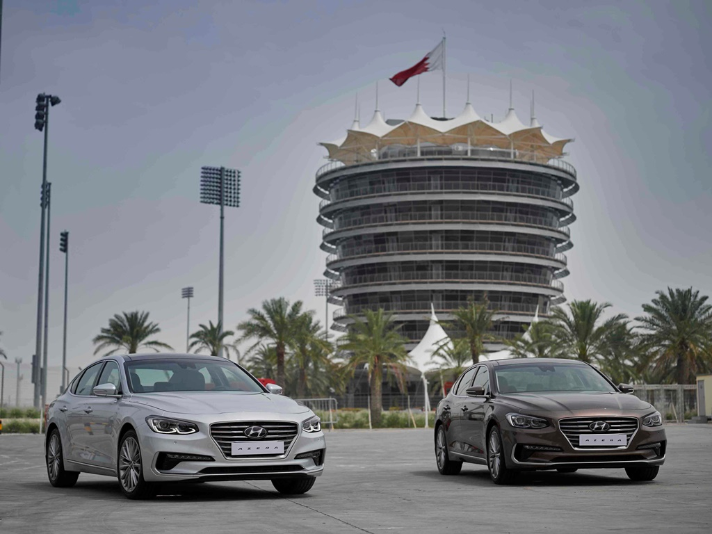 2018 hyundai azera. simple azera 2018 hyundai azera arrives to the middle east with hyundai azera