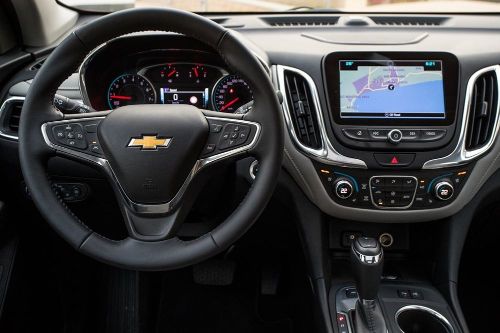Chevrolet Equinox 2018 Interior