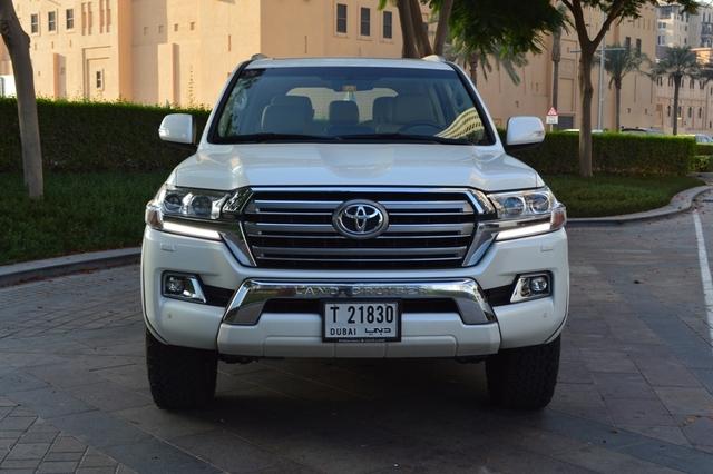 Toyota Land Cruiser Xtreme 2017 Front
