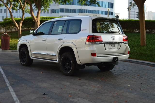 Toyota Land Cruiser 2017 Rear