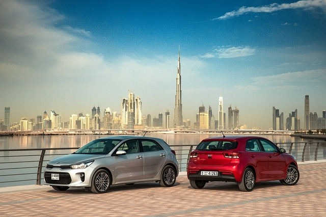 Kia Rio 2018 Launch UAE