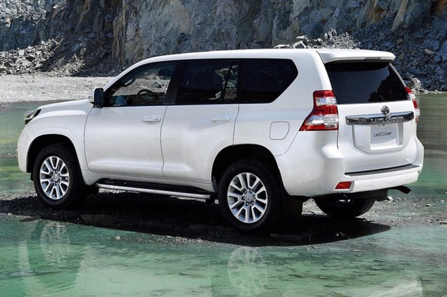 Toyota Land Cruiser 2017 Rear