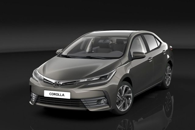 Toyota Corolla 2017 Front