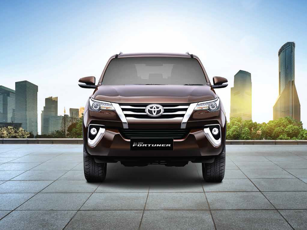 Toyota Fortuner 2017 Front