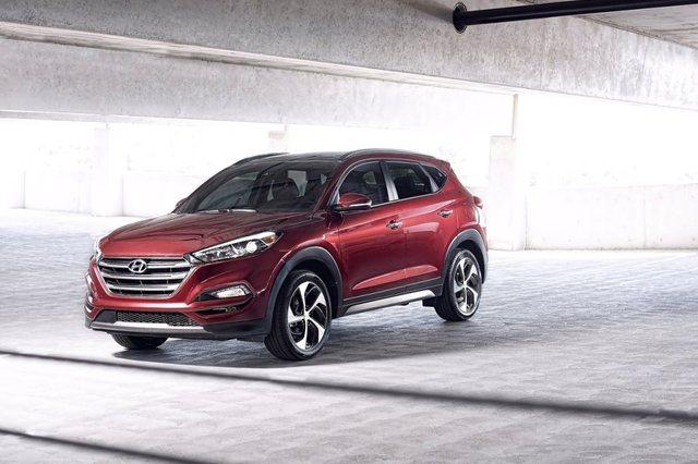 Hyundai Tucson 2017 Front