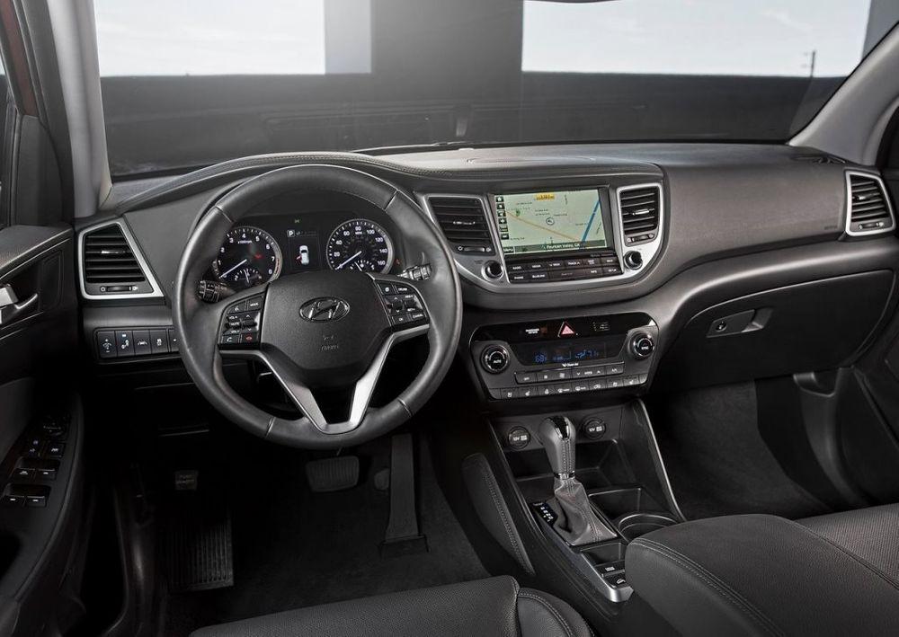 Hyundai Tucson 2017 Interior