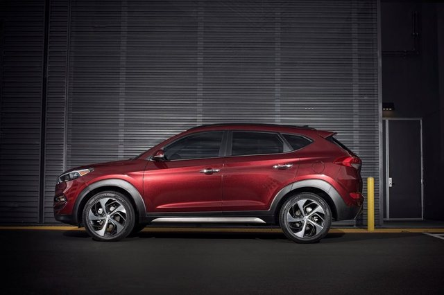 Hyundai Tucson 2017 Side
