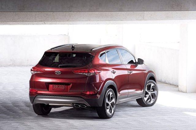 Hyundai Tucson 2017 Rear