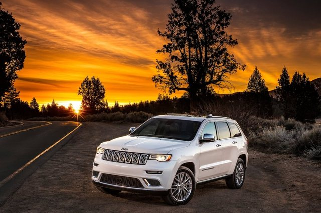 Jeep Grand Cherokee 2017 Front