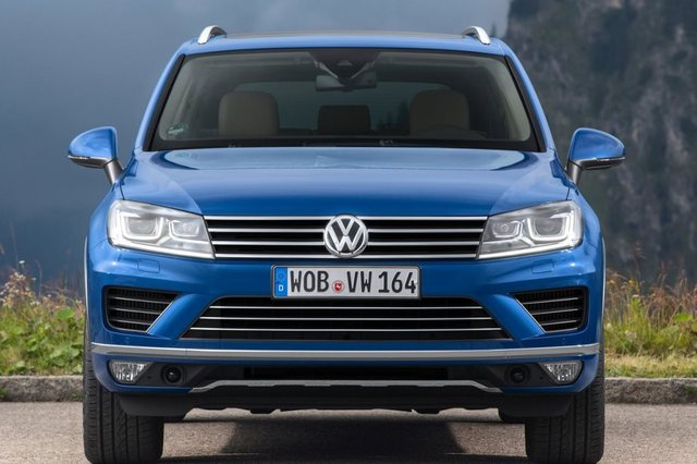 Volkswagen Touareg 2018 Front