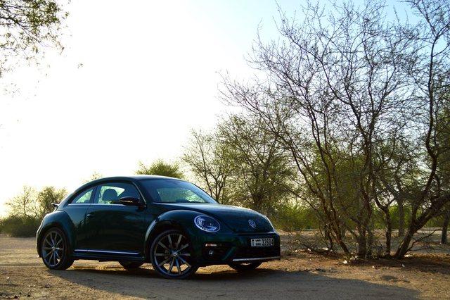 Volkswagen Beetle 2017 Side
