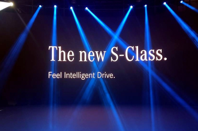 Mercedes benz S Class launch