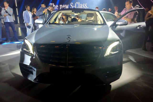 Mercedes benz s class 2018