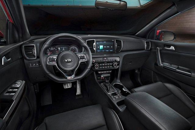 Kia Sportage 2017 interior