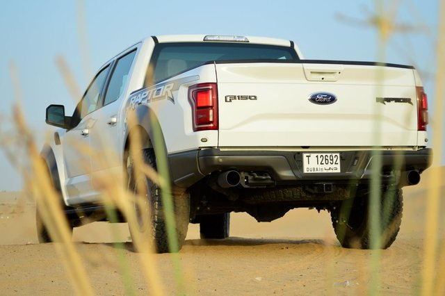 Ford Raptor 2017 Rear