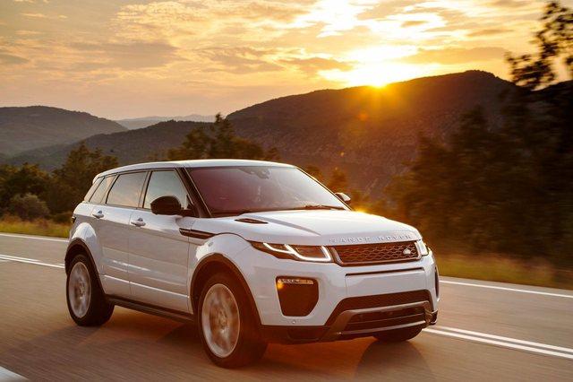 Range Rover Evoque 2017 Front