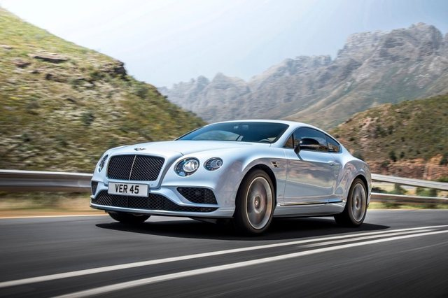 Bentley Continental GT 2017 Side