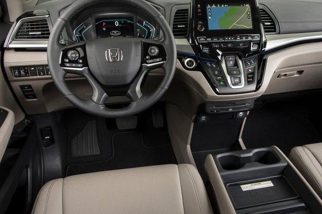 Honda Odyssey 2018 Dashboard