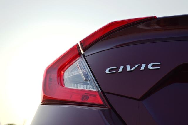 Honda Civic 2017 taillights