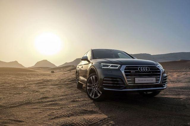 Audi Q5 2018 front