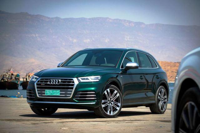 Audi SQ5 2018 front left