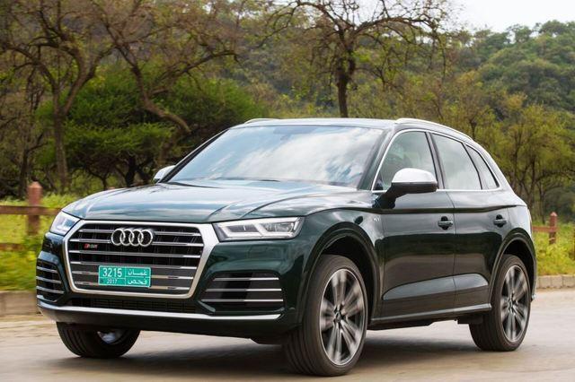 Audi SQ5 2018 front left side