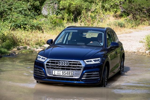 Audi Q5 2018 offroad