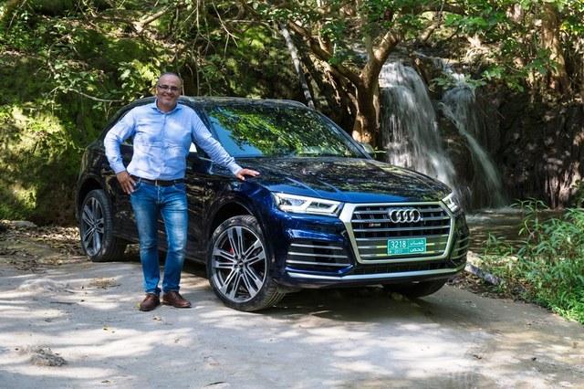 Audi Q5 2018 front view image