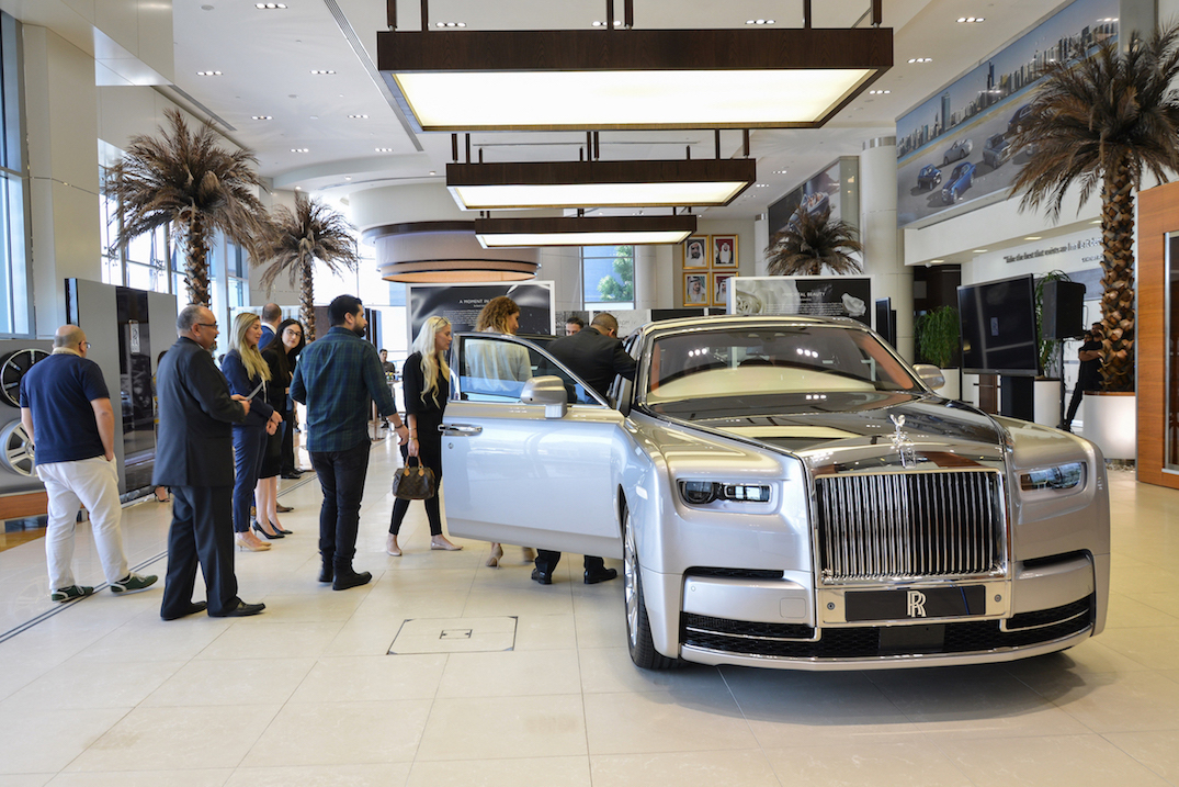 2018 Rolls Royce Phantom Makes Middle Eastern Debut