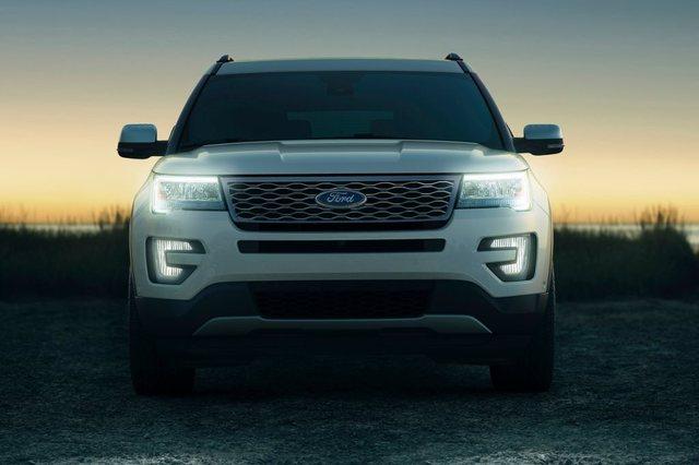 Ford Explorer 2017 Front
