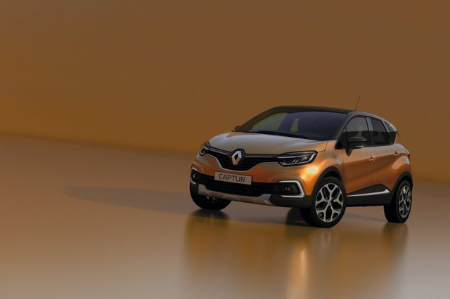 Renault Captur 2017 Front