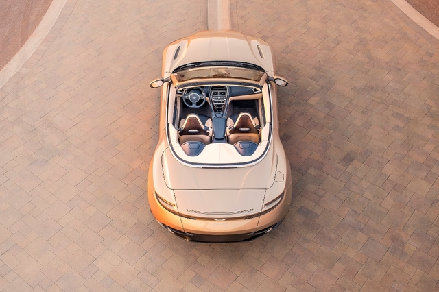 Aston Martin DB11 Volante Top