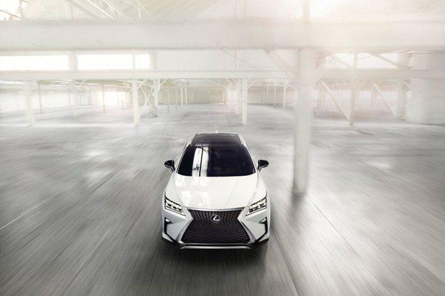 Lexus RX 2017 Front
