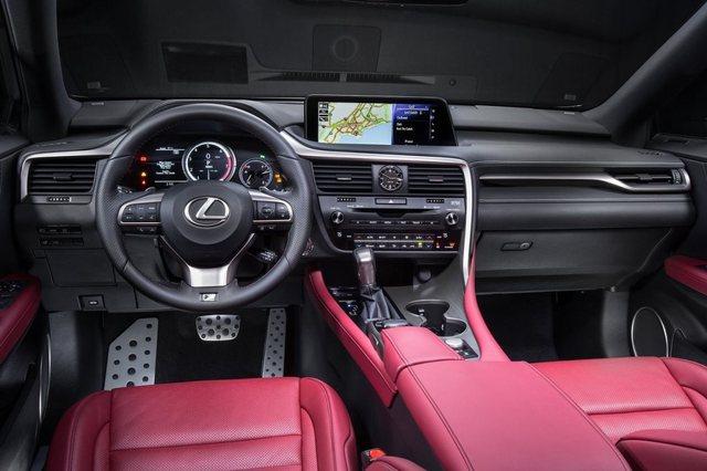 Lexus RX 2017 Interior