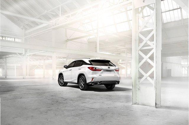 Lexus RX 2017 Rear