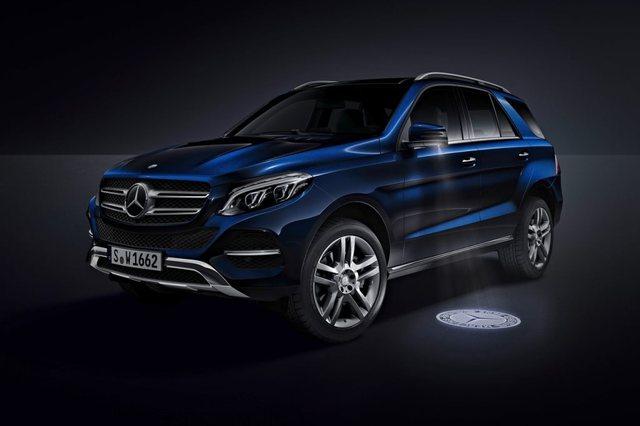 Mercedes Benz GLE 2017 Side
