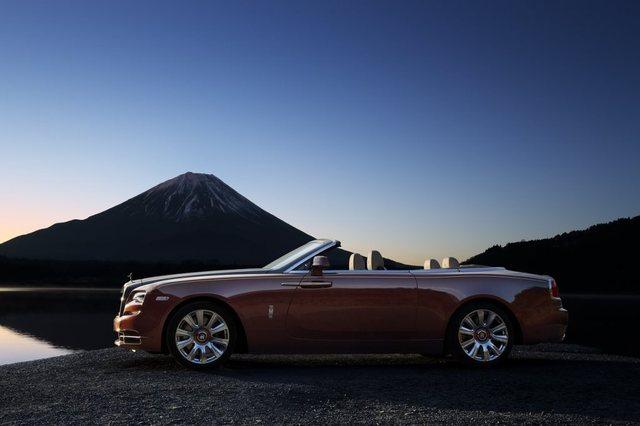 Rolls Royce Dawn 2017 Side