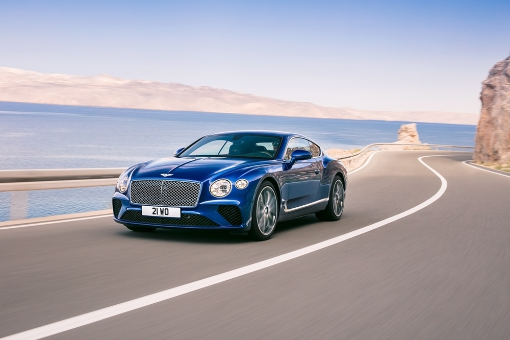 Bentley Continental GT 2018 Front