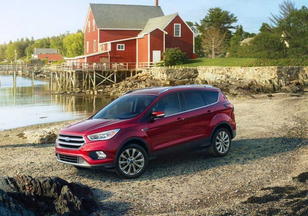 Ford Escape 2017 Front