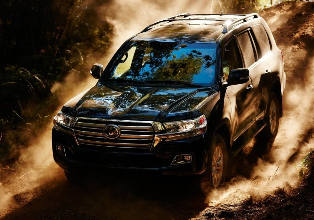 Toyota Land Cruiser 2017 Top
