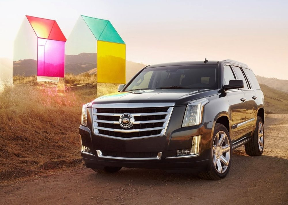 Cadillac Escalade 2017 Front
