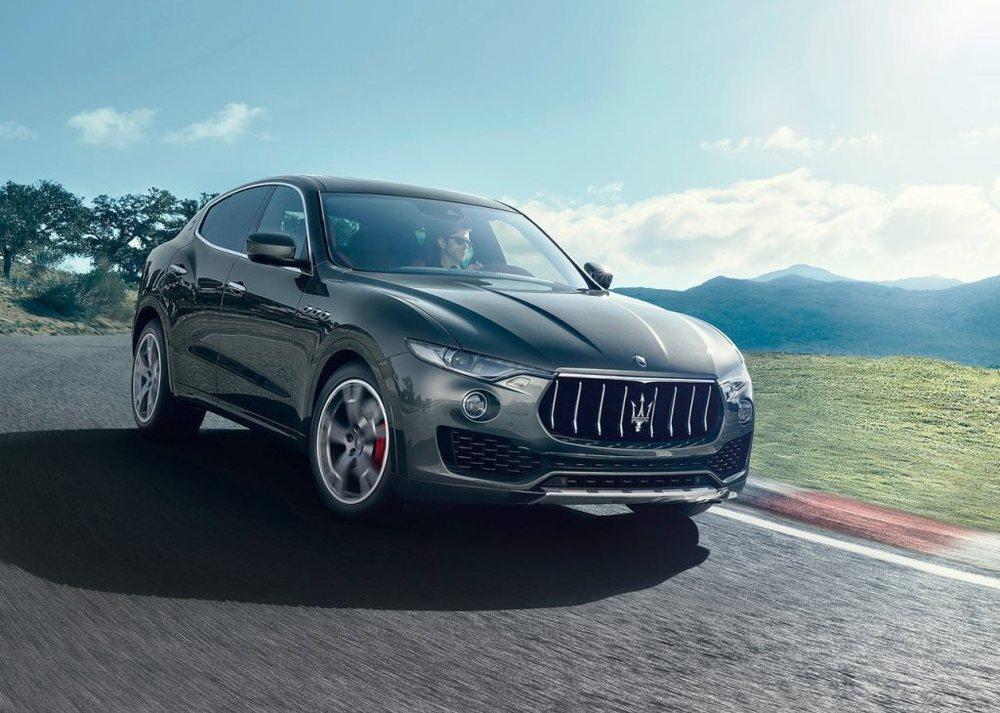 Maserati Levante 2017 front