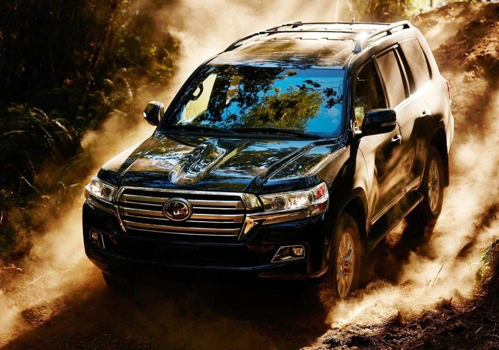 Toyota Land Cruiser 2017 Front