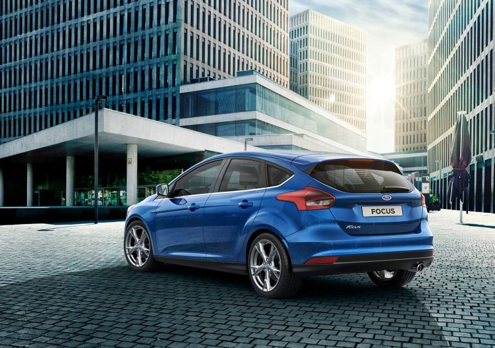 Ford Focus 2017 Rear