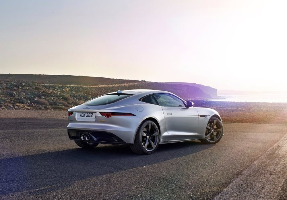 Jaguar F Type 2017 Rear
