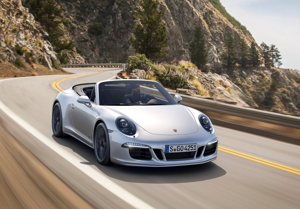 Porsche 911 Carrera GTS Cabrio 2017