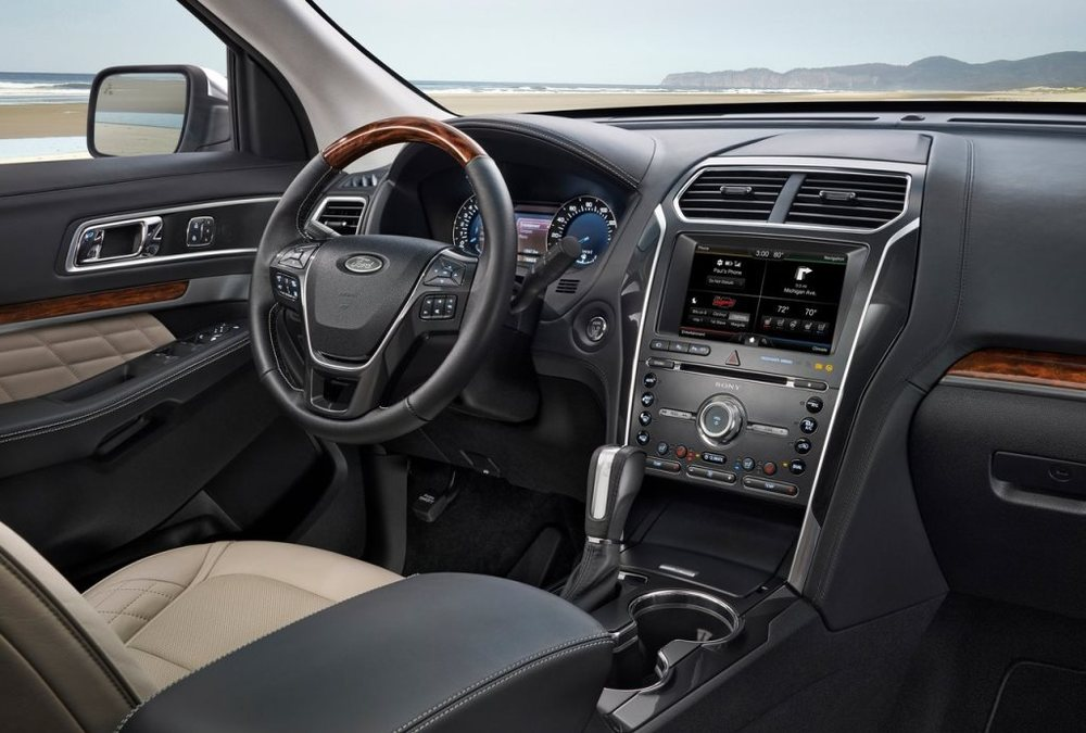 Ford Explorer 2017 Interior