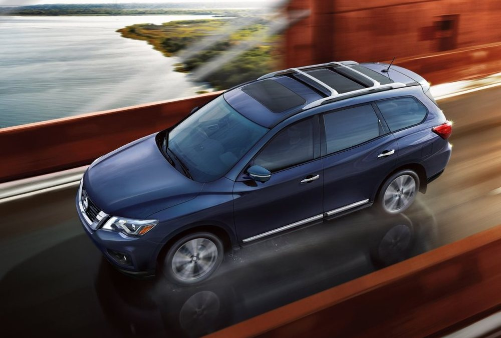 Nissan Pathfinder 2017 Top